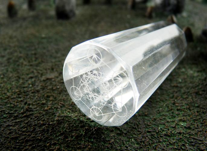 メタトロンキューブ クリスタル 結界用ポイント
