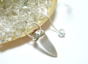 ヒマラヤ水晶ペンデュラム(hpe005-b)
