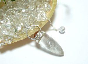 ヒマラヤ水晶ペンデュラム(hpe006-b)