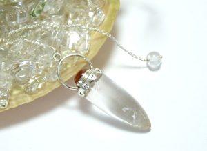 ヒマラヤ水晶ペンデュラム(hpe010-b)