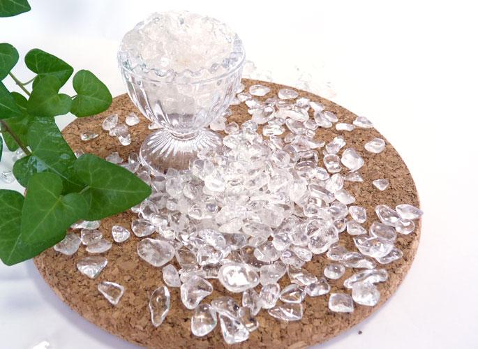 ヒマラヤ水晶のさざれ(100g)