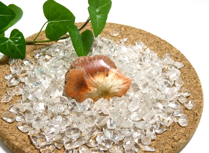 スコレサイト(灰沸石)原石