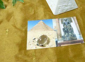 ピラミッド・パワー・転写クリスタル(egypt001)