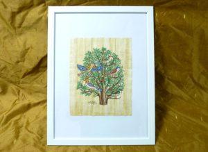 パピルス・生命の木(egyptp009)