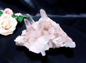 ヒマラヤ水晶クラスター(hcc129)