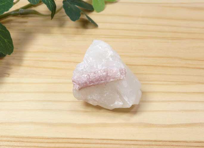 ブラジル産 ピンクトルマリン 結晶付き原石