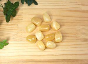 イエローアラゴナイト タンブル(tum016)